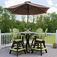 Patio Furniture at Pine Creek Structures of Roanoke VA