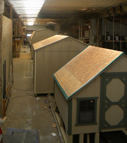 A peek inside our Spring Glen, PA manufacting plant.